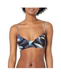 Haut de Bikini pour Imprimé Classique Roxy en coloris Multicolor