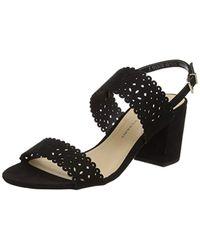 Dorothy Perkins Black 'sugar' Lazercut Sandals