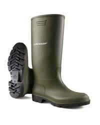 Dunlop Wasserdichte Gummistiefel Grün EU 46 in Green für Herren