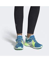 Terrex Two Boa GTX W, Chaussures de Fitness Femme Adidas en coloris Blue