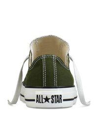 Converse Green Chuck Taylor All Star Core Ox for men