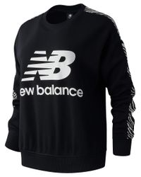 New Balance Wt03548 Sweater Black
