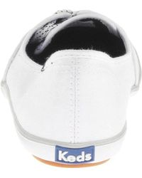 Keds White Teacup Fashion Flat