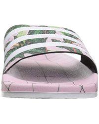 Adidas Originals Multicolor Adilette Slide Sandal