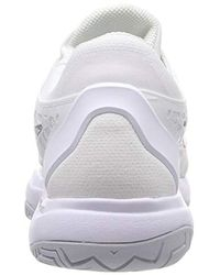 Nike White Damen WMNS Air Zoom Cage 3 Hc Sneakers