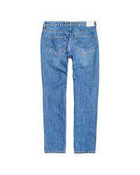 Harper Boyfriend Pantalon Hawaii Blue 28-32 Superdry