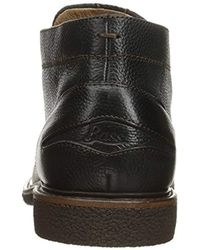 G.H.BASS Black Bennett Chukka Boot for men
