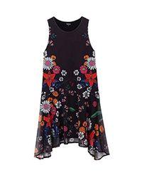 19WWVK37 Dress s Desigual en coloris Black