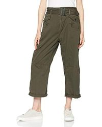 Army Radar XL Mid Paperba, Pantalones Mujer, Verde (Forest Night 5163), W26 G-Star RAW de color Green
