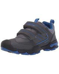 Geox Jungen J BULLER Boy D Sneaker, Grau (Dk Grey/Royal C0071), 28 EU in Gray für Herren