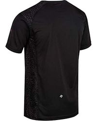 Hyper-Reflective II Quick Drying Active Sports di Regatta in Black da Uomo