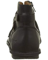 Kickers Black Damen Waboot Stiefel