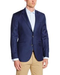 Hackett Blue Navy 120s Blazer Sp for men