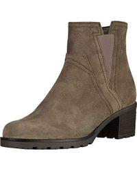 Gabor Gray Damenschuhe 72.804.30 Damen Stiefeletten, Boots, Stiefel, in Comfort-Mehrweite, mit Reißverschluss