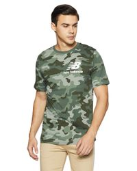 Mt83538 T-Shirt di New Balance in Green da Uomo