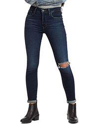 ® 721 High Rise Skinny W Jean London Haze Levi's en coloris Blue