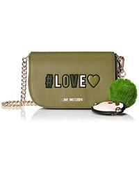 Borse a spalla di Love Moschino in Green