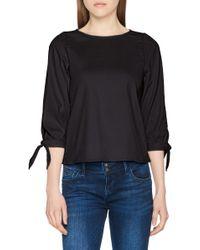 Vero Moda Black Ladies Blouse Via Shirt 3/4 Sleeve Band