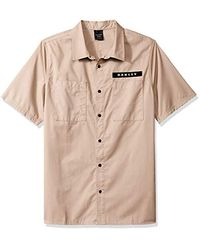 Oakley Natural Icon Ss Shirt, Rye, Xxl for men