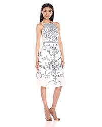 Parker - White Alana Sleeveless Dress - Lyst