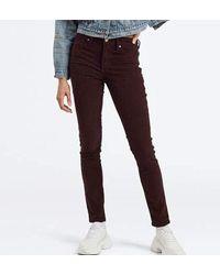 ® 721 High Rise Skinny W Jean Levi's en coloris Purple