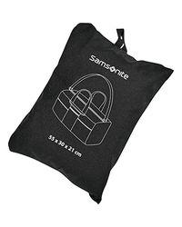 Samsonite Black Foldaway Duffle for men