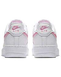 Nike White , Sneaker Pink weiß
