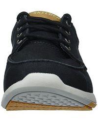 Skechers Black Relaxed Fit-elent-arven Boat Shoe for men