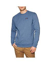Patagonia P-6 Label Uprisal Crew Sweatshirt in Blue für Herren