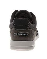 Rockport Welker Casual Laceup Trainers Brown for men