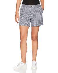 """5"""" Pantaloncini Chino con Cucitura Interna di Amazon Essentials in Blue"""