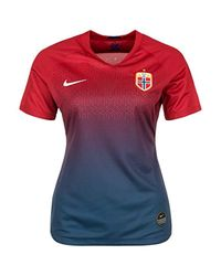 Nike Red Soccer Norway Home Jersey