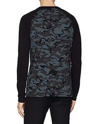 Superdry T-Shirt in Black für Herren
