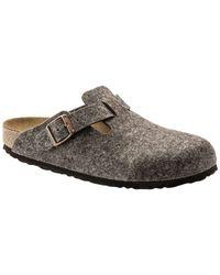 Pantofole unisex di Birkenstock in Gray