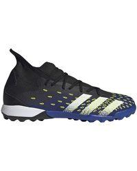 Predator Freak .3 Turf Soccer Shoe Adidas pour homme en coloris Blue