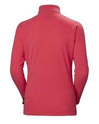 Daybreaker - Felpa in pile da donna di Helly Hansen in Pink da Uomo