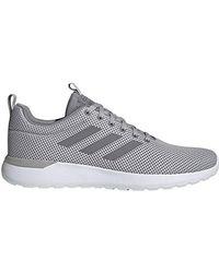 Adidas Gray Lite Racer Cln Running Shoe for men