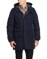 G-Star RAW - Blue G-star Expedic Hdd Cotton Parka Jacket for Men - Lyst