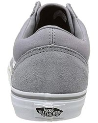 Old Skool, Baskets Basses Mixte Adulte Vans pour homme en coloris Gray