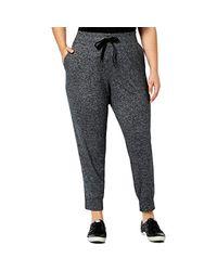 Calvin Klein Performance S Plus Fitness Running Jogger Pants Gray 3x