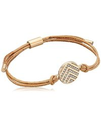Fossil Metallic Chevron Glitz Bangle Bracelet