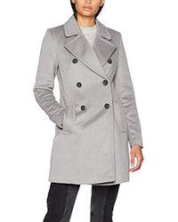 Vmpisa Rich 3/4 Wool Jacket Boos, Giubbotto Donna, Grigio (Light Grey Melange), 40 (Taglia Produttore: Large) di Vero Moda in Gray