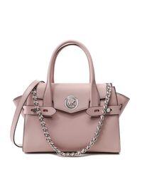 Da Donna carmen piccolo saffiano in pelle cintura borsa Rosa Unica Taglia di Michael Kors in Pink