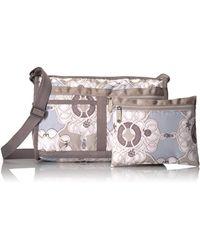 LeSportsac - Multicolor Classic Deluxe Shoulder Satchel Handbag - Lyst