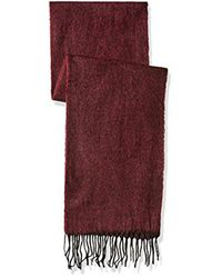 Perry Ellis - Red Reversible Jacquard Scarf for Men - Lyst