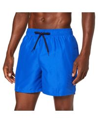 "Logo Solid Lap Volley Short 5"" -Lmf5 Ness9504 Costume da Bagno di Nike in Blue da Uomo"