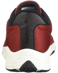 Reebok Red Trainflex 2.0 Sneaker for men