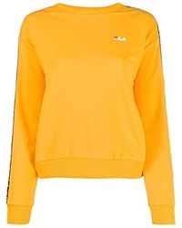 Luxury Fashion Donna 682326589 Giallo Felpa | Autunno Inverno 19 di Fila in Yellow