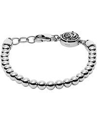 DIESEL Metallic Stainless Steel Bracelet