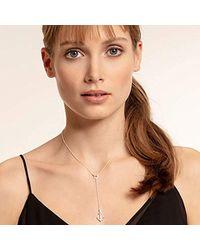 Thomas Sabo Metallic Silver Y-shaped Necklace Ke1853-051-14-l45v